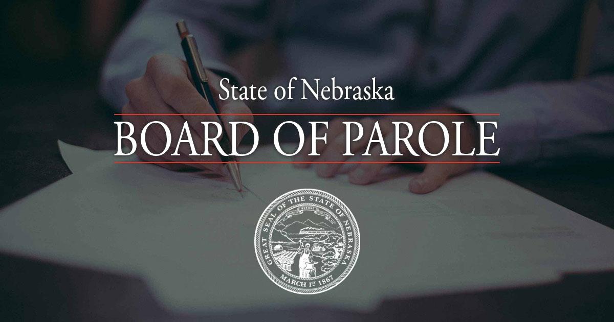 Public Hearings | Nebraska Parole